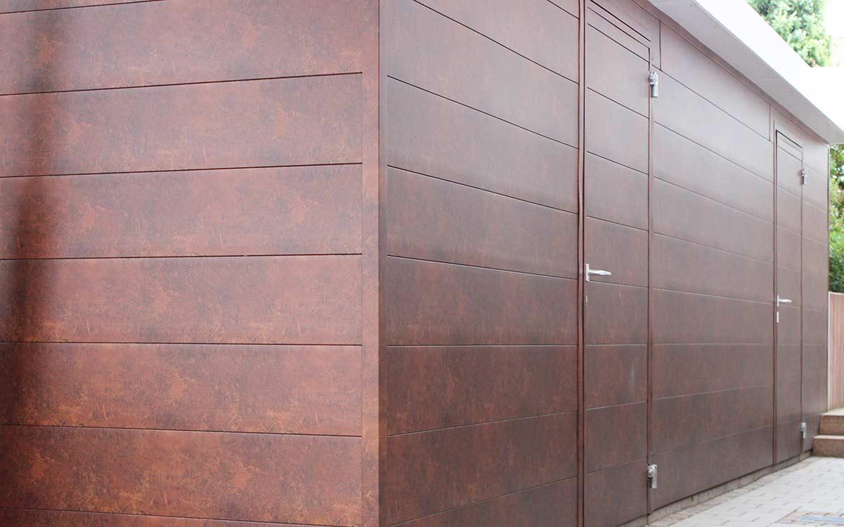 Fassadenprofile dekotrim 250 - Flächenähnlich (mit Sicke 3 mm)