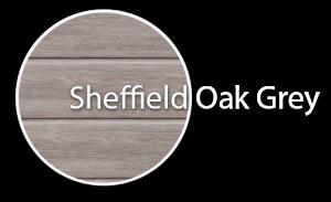 Darstellung von Sheffield Oak Gray Profil für Dachschalung von dekodeck