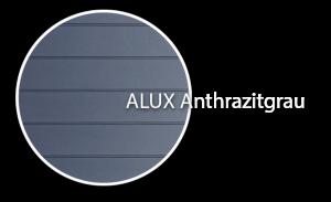 Bild von Alux Anthrazitgrau Profil für Dachschalung von dekodeck