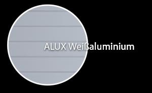 Foto von Profil für Dachschalung von dekodeck - Farbe Weißaluminium