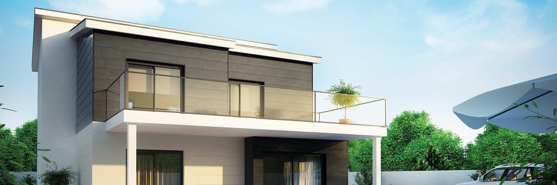 Bild mit Abbildung Fassadenverkleidung aus Kunststoff