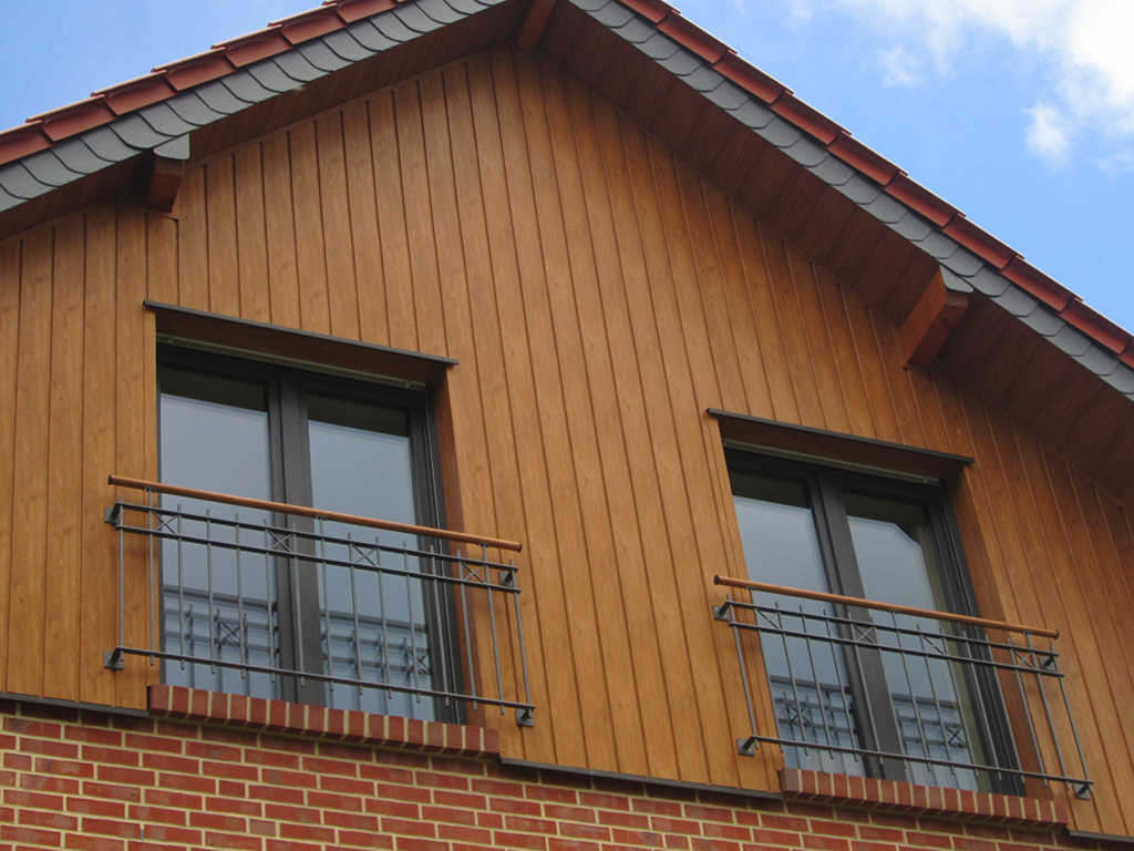 Profile für Fassadenverkleidung