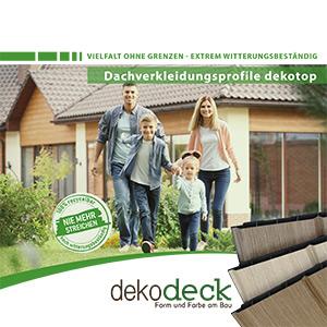 Broschuere Dachverkleidungsprofil