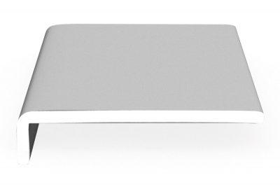 Hartschaumwinkel-Softline Laibungs- und Dachrundprofile dekoboard 175 x 42 x 9 mm