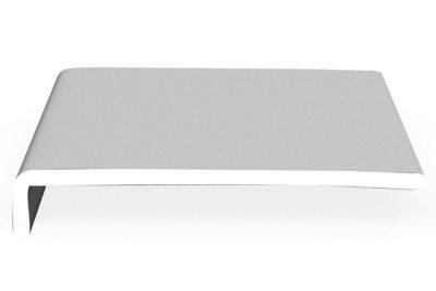 Hartschaumwinkel-Softline Laibungs- und Dachrundprofile dekoboard 225 x 42 x 9 mm