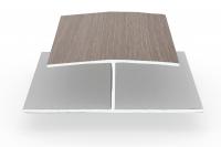 Verbindungsprofil H-Profil Sheffield-Oak-Light für Dachschalung