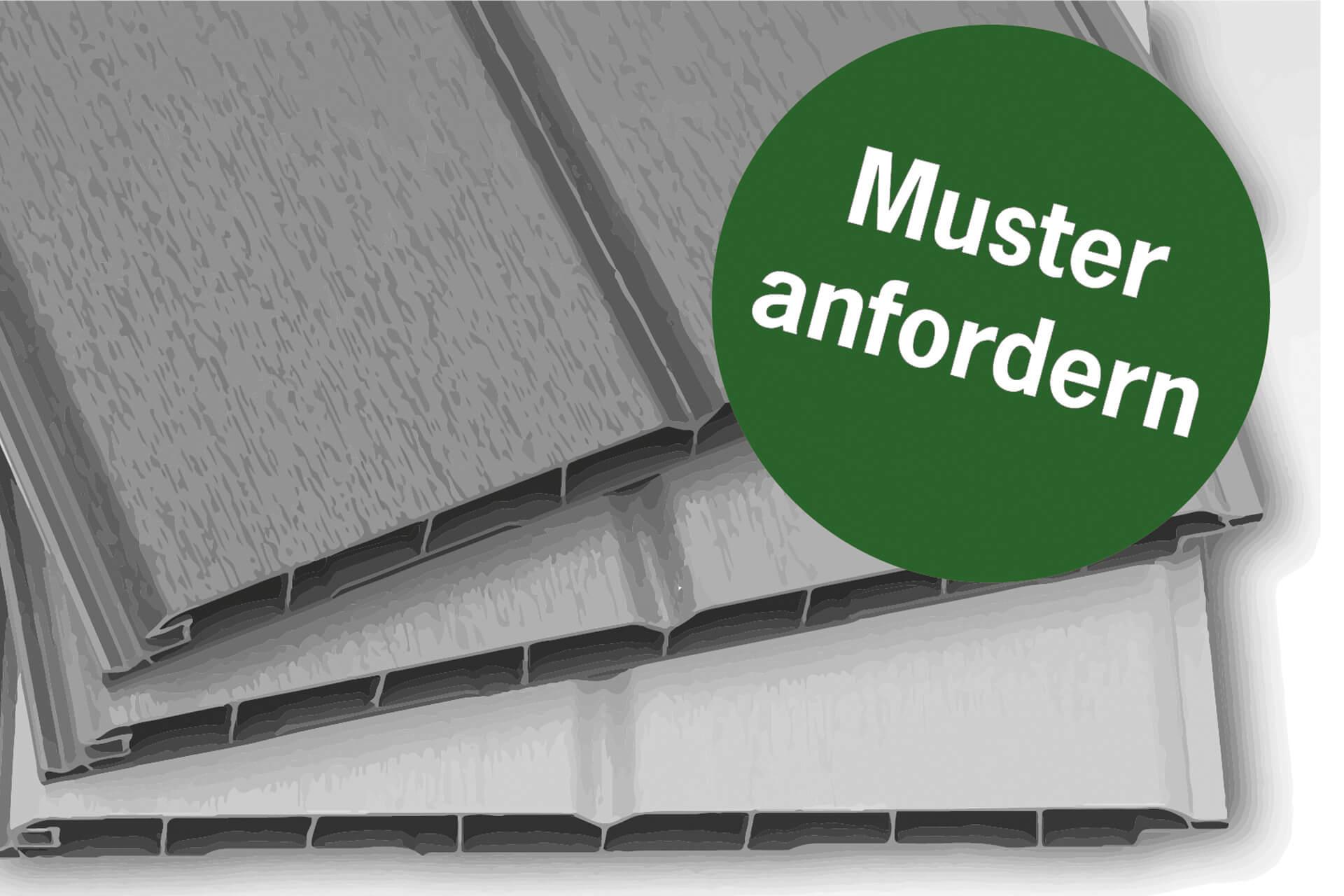 Musterservice für Fassadenverkleidung aus Kunststoff